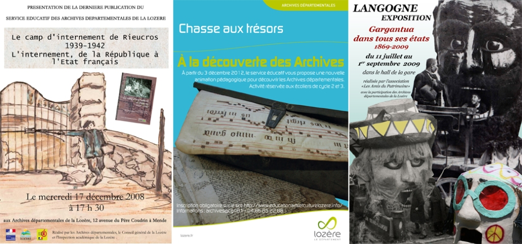 Affiche infographiste Lozère