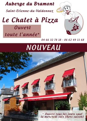 Flyer Chalet à pizza